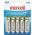 Batteries: Maxell AA, 10 pk