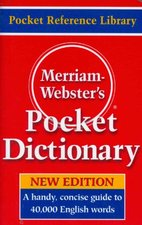 Merriam-Webster's Pocket Dictionary