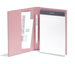 Padfolio Velvet Dusty Rose