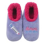 "Slipper Snoozies: ""Nurses Call the Shots"""