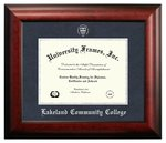 Diploma Frame: Satin Mahogany