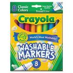Crayola 8 Pk. Washable Markers