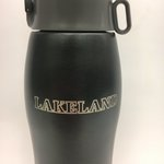 Water Bottle: Black Stainless