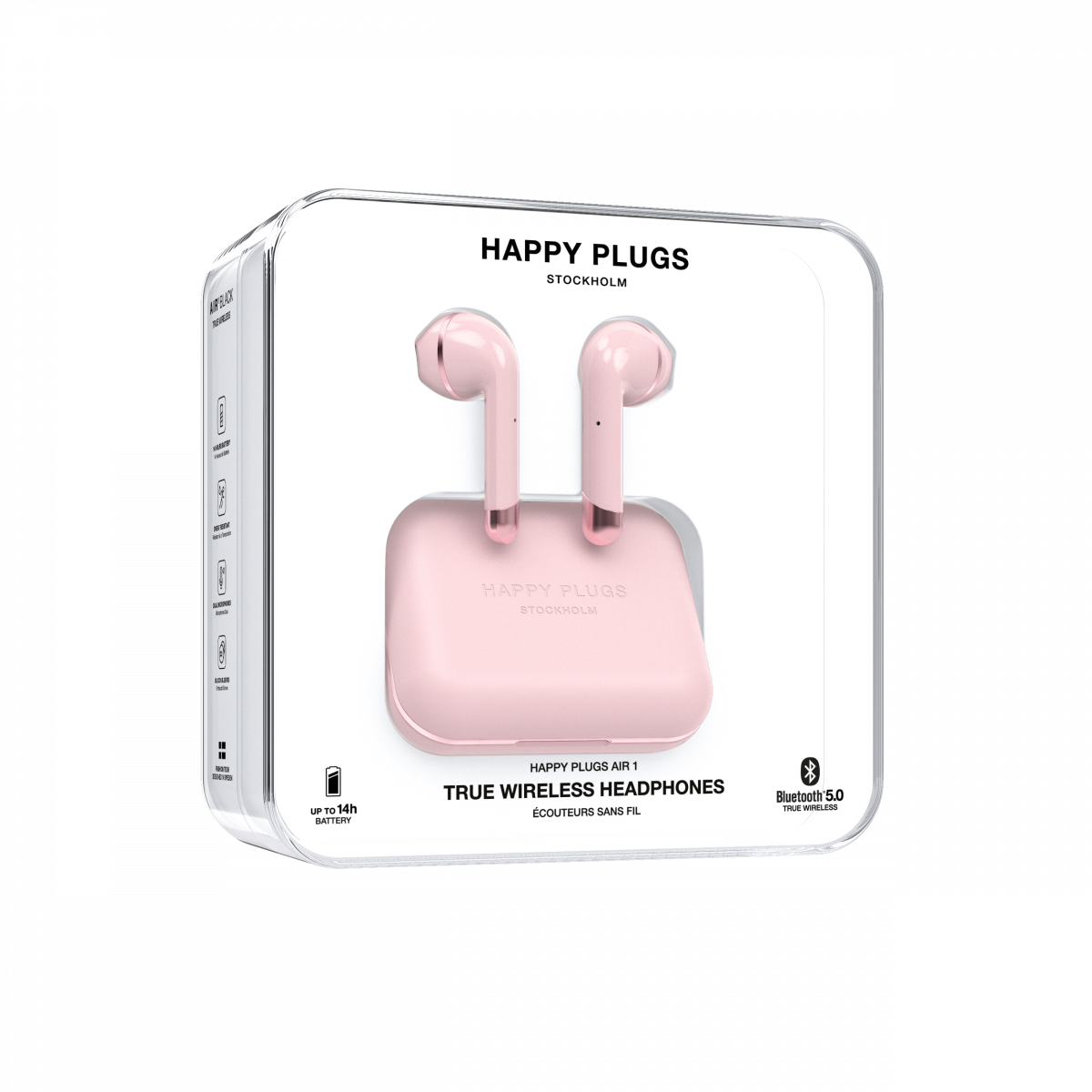 happy plugs pink
